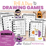 GROWING BUNDLE * Roll-A-Dice Drawing Games | Fine- Motor A