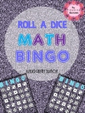 Roll a Dice Math BINGO