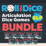 Articulation Dice Games BUNDLE