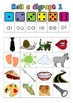 Roll a Digraph! Based on the 17 Jolly Phonics Digraphs