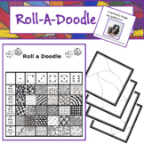 Roll a Doodle - A Zentangle Inspired Game