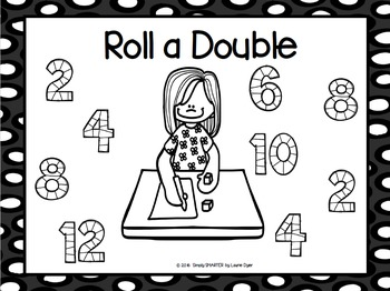 Roll a Double:  NO PREP Addition Strategy Game