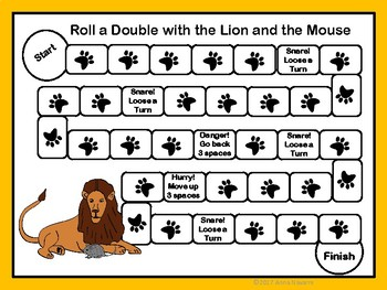 Roll a Double with the Lion and the Mouse