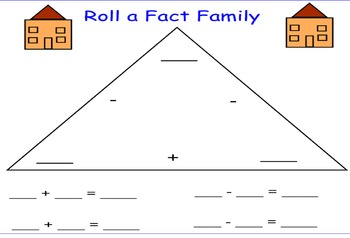 Roll a Fact Family
