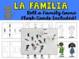Roll a Family Game {Spanish}