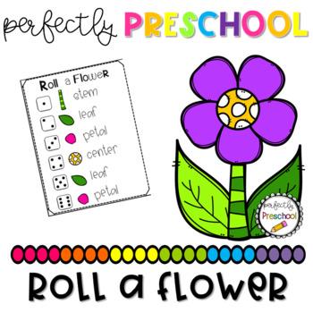 Roll a Flower {Freebie}