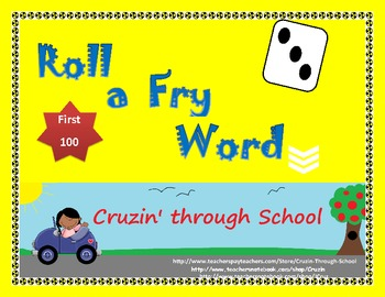 Roll a Fry Word - First 100