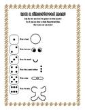 Roll a Gingerbread Man Worksheet
