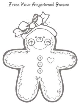 Roll a Gingerbread Person