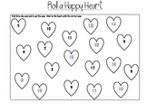 Roll a Happy Heart dice game