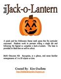 Roll a Jack-o-Lantern