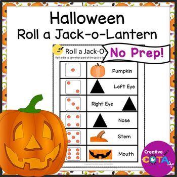 Roll a Jack o Lantern