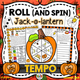 Roll a Jack-o-Lantern (Tempo)