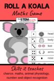 Roll a Dice - An Australian Koala Maths Game
