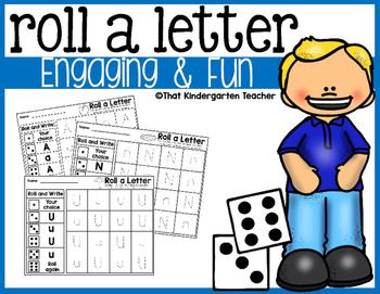 Roll a Letter {NO PREP}