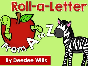 Roll a Letter A to Z editable