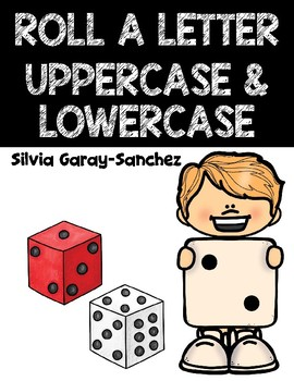 Roll a Letter Uppercase and Lowercase