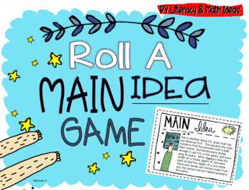 Roll a Main Idea Game