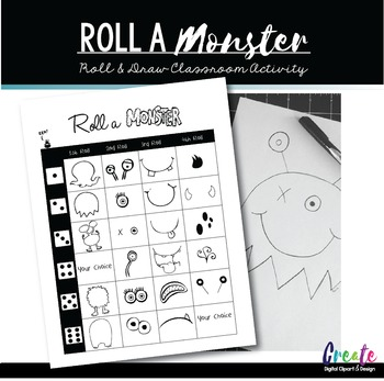 Roll a Monster - Dice Game