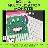 Roll a Multiplication Monster - Math Fact Fun - Multiplica