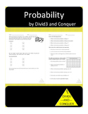 Probability Activity-Roll a Number Cube