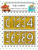 Roll a Number: Number Practice with Clay