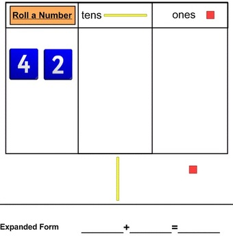 Smartboard: Roll a Number Place Value