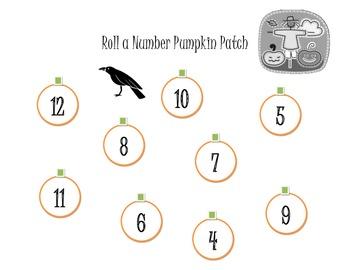 Roll a Number Pumpkin Patch