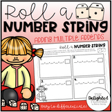 Roll a Number String Game {Adding Multiple Addends}