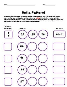 Roll a Pattern