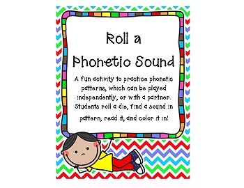 Roll a Phonetic Sound