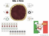 Roll a Pizza  Open-Ended game for Speech Therapy