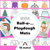Roll-a-... Playdough Mats
