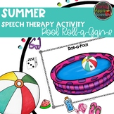 Summer Speech Therapy Pool Activity