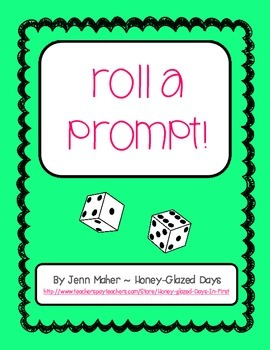 Roll a Prompt! Writing prompts for each month