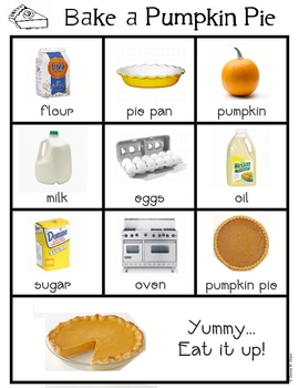 Roll a Pumpkin Pie & Roll a Grocery List
