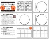 Roll a Pumpkin Resource Pack for Halloween Math Center
