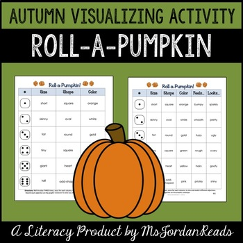 Roll-a-Pumpkin {Visualizing} Activity