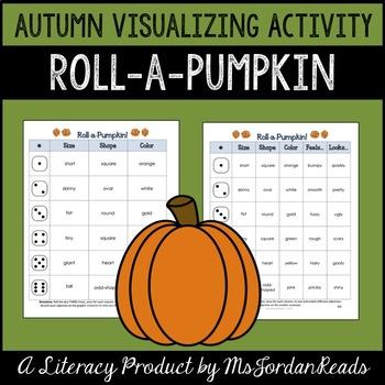 Roll-a-Pumpkin {Visualizing} Activity