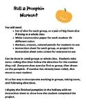 Roll a Pumpkin Workout