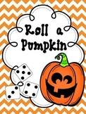 Roll a Pumpkin and WRITE!