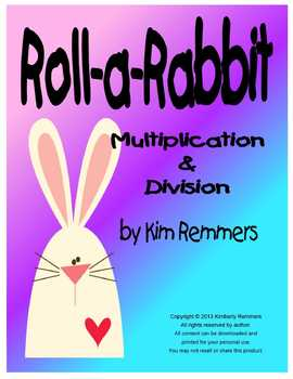 Roll-a-Rabbit differentiated Multiplication and Division