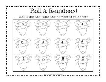 Roll a Reindeer