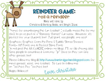 Roll a Reindeer Free Game