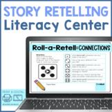 Story Retell Literacy Center | Editable Reading Comprehens