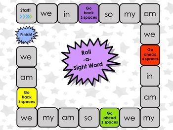 Roll-a-Rhyme & Roll-a-Sight Word Games