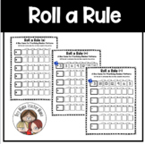 Roll a Rule: Practicing Number Patterns Activity
