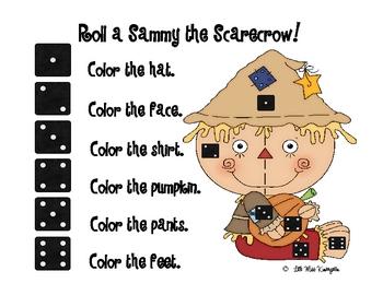 Roll a Sammy the Scarecrow!