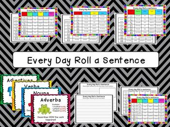 Roll a Sentence - Every Day Edition