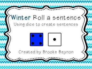 Roll a Sentence - Winter Edition
